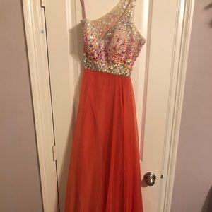 Blush prom dress!!!!